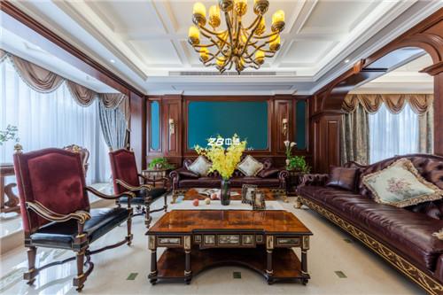 荀庄500方欧式新古典豪宅装修设计欣赏